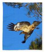Wedge-tailed Eagle Fleece Blanket
