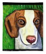 Wee Beagle Fleece Blanket