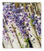 Weeping Wisteria Fleece Blanket