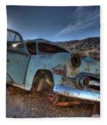 Welcome To Death Valley Fleece Blanket