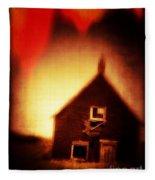 Welcome To Hell House Fleece Blanket