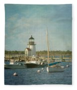 Welcome To Nantucket Fleece Blanket