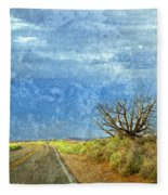 Welcome To The Magic Of Arches National Park  Fleece Blanket