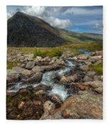 Welsh Valley Fleece Blanket