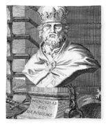 Wenceslaus (1361-1419) Fleece Blanket