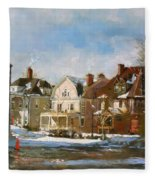 West Ferry Street Fleece Blanket