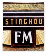 Westinghouse Fm Logo Fleece Blanket