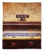 Westinghouse Fm Rainbow Tone Radio Fleece Blanket
