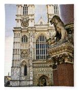 Westminster Abbey Fleece Blanket
