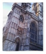 Westminster Abbey London Fleece Blanket