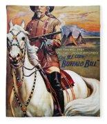 W.f. Cody Poster, 1910 Fleece Blanket