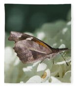 What A Schnoz On That American Snout Butterfly Fleece Blanket