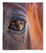 What Are You Looking At? Fleece Blanket