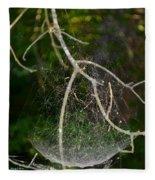 What Webs We Weave Fleece Blanket