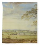 Whatman Turkey Mill In Kent Fleece Blanket