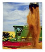 Wheat Harvest Fleece Blanket