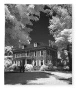 Wheatland - James Buchanan's Home Fleece Blanket