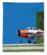 Wheels Up Fleece Blanket