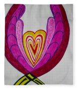 When Love Blooms.. Fleece Blanket