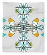 Whirly Birds Fleece Blanket