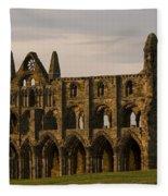 Whitby Abbey Fleece Blanket
