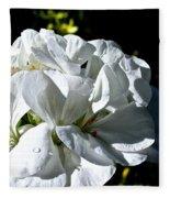 White Dew Fleece Blanket