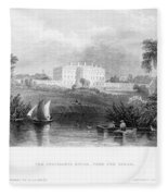 White House, 1839 Fleece Blanket
