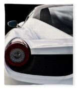 White Italia Fleece Blanket
