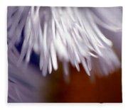 White Petals Fleece Blanket