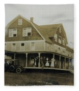 White Roe Boarding House-owner E Keene Prior To My Grandfather. Circ 1900s Fleece Blanket