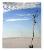 White Sands National Monument 1 Fleece Blanket