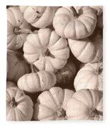 White Squash Fleece Blanket
