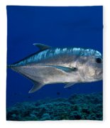 White Ulua Fleece Blanket
