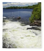 White's Falls Fleece Blanket