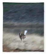 Whitetail Abstract Fleece Blanket