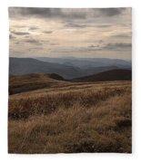Whitetop Mountain Virginia Fleece Blanket