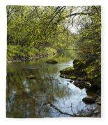 Whitewater River Spring 10 Fleece Blanket
