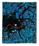 Wicked Widow - Blue Fleece Blanket