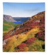 Wicklow Way, Co Wicklow, Ireland Long Fleece Blanket