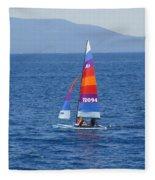 Wide Sail Fleece Blanket