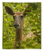 Wild Doe Fleece Blanket