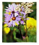 Wild Floral Fleece Blanket