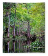 Wild Florida - Hillsborough River Fleece Blanket