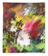 Wild Flowers 04 Fleece Blanket