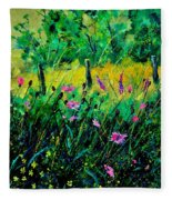 Wild Flowers 451190 Fleece Blanket