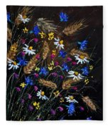 Wild Flowers 452150 Fleece Blanket