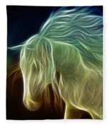 Wild Horse Fleece Blanket