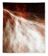 Wild Lightning  Fleece Blanket