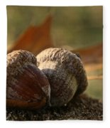 Wild Nuts Fleece Blanket