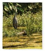 Wild Still Life Fleece Blanket